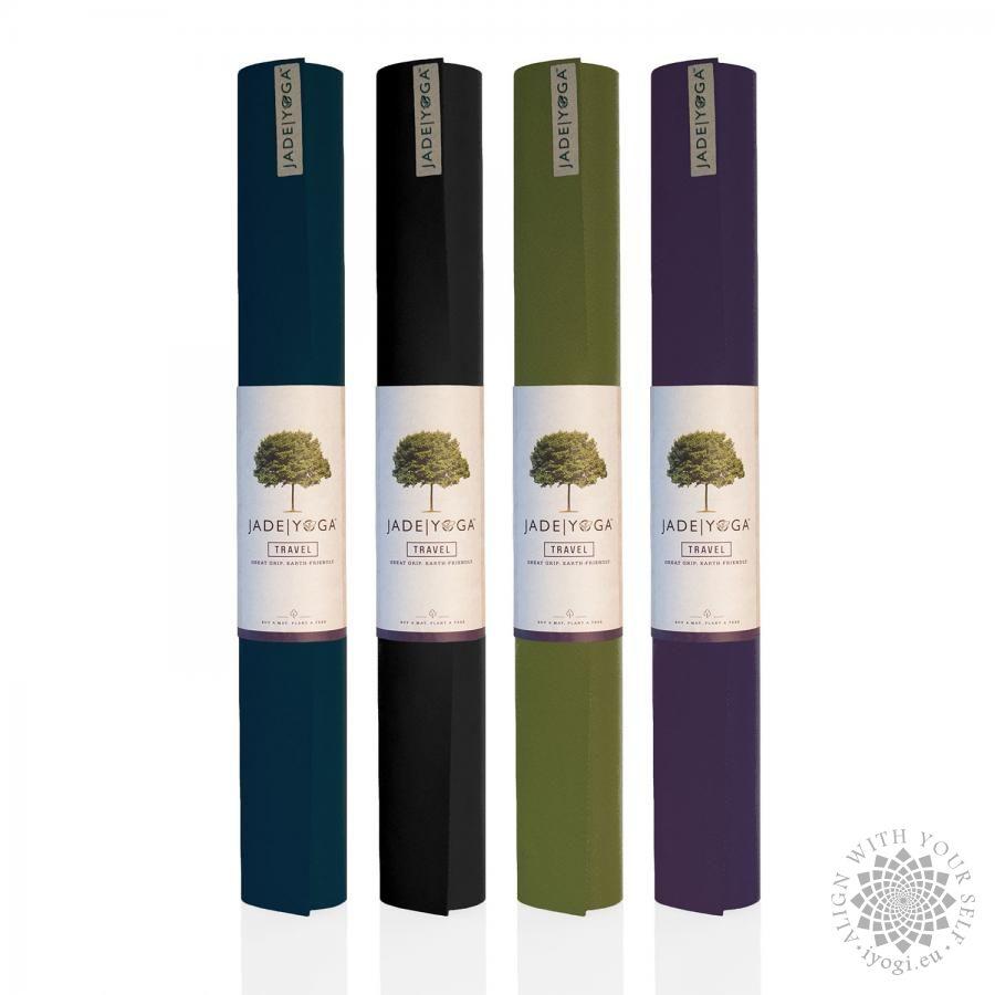 Jade Travel Yoga mat purple