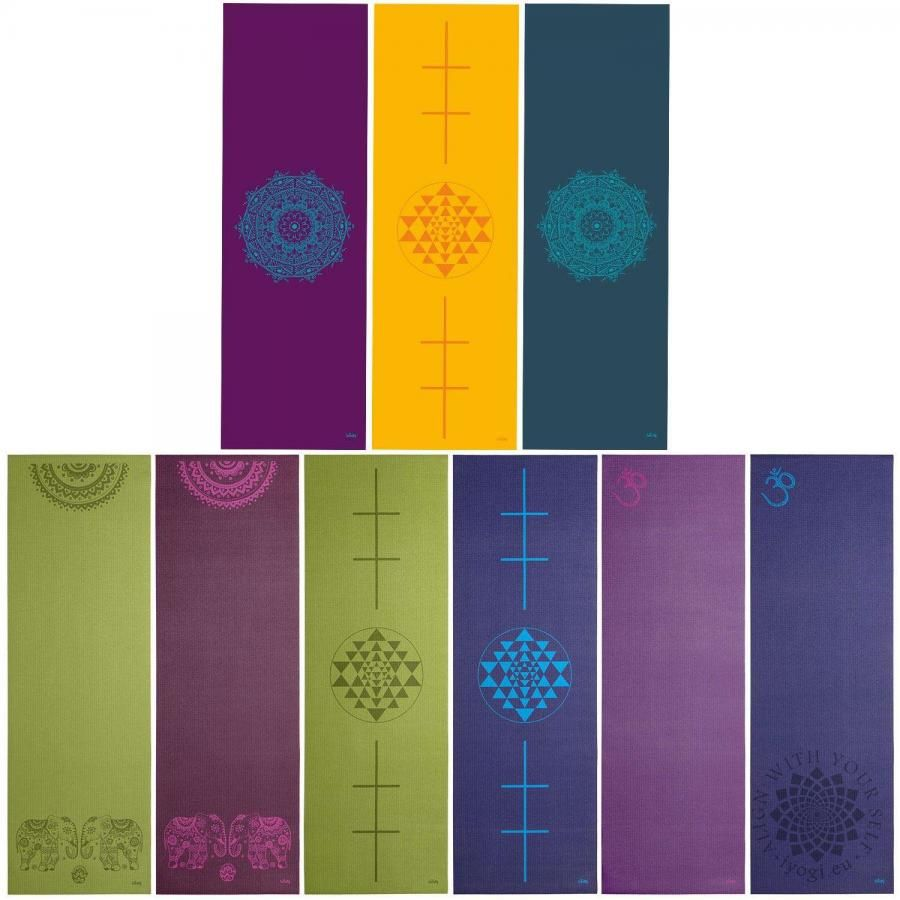 Bodhi LEELA Olive Yantra Yoga Mat