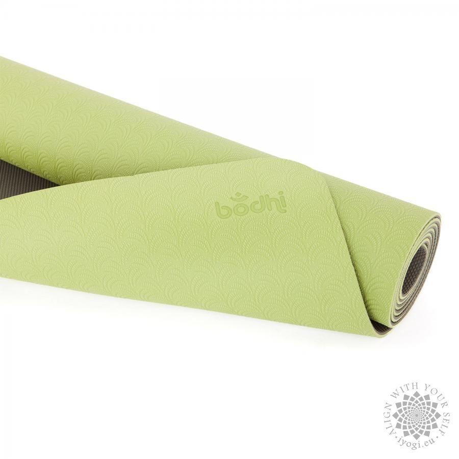 Podložka na jógu Bodhi Lotus Pro Light zelená