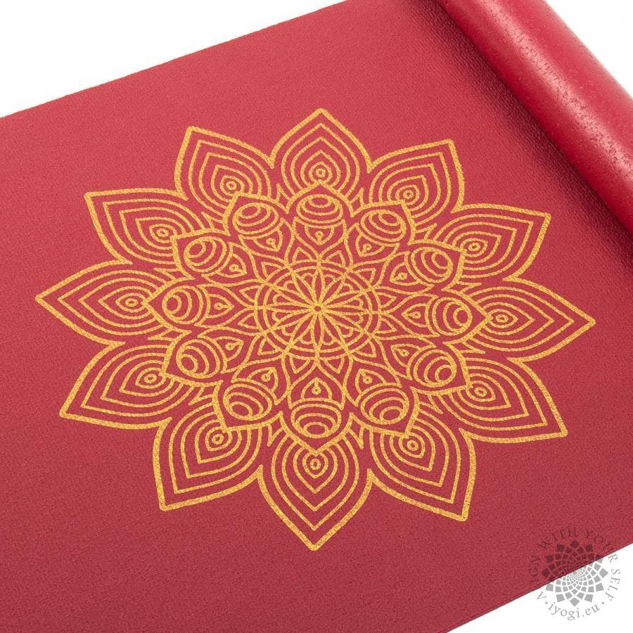 Bodhi Rishikesh 60 Golden Mandala Yoga Mat