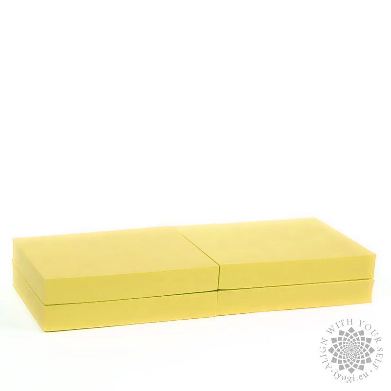 Yoga foam block 250 x 200 x 38 mm