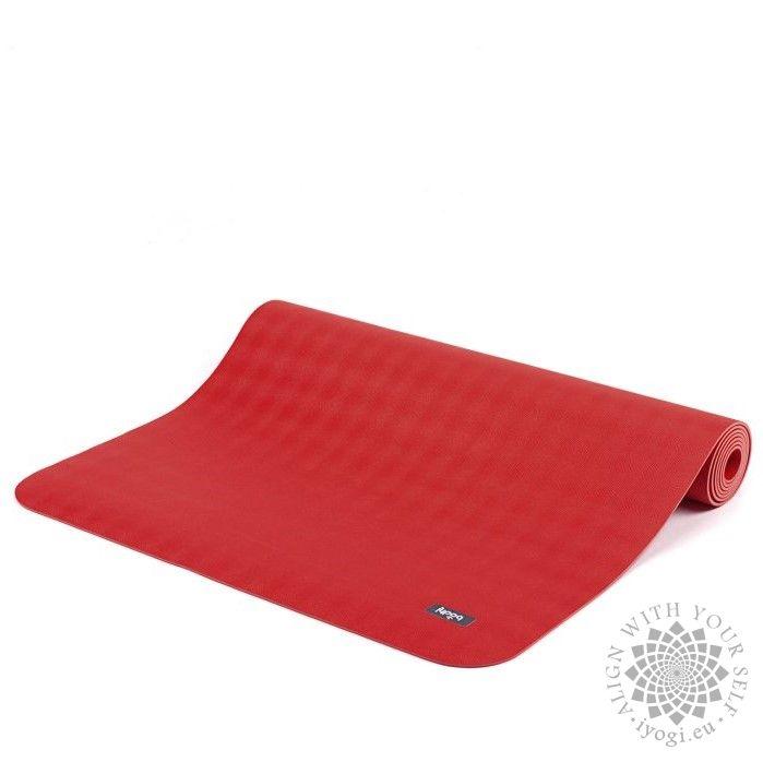 ECOPRO XL mat - natural rubber crimson