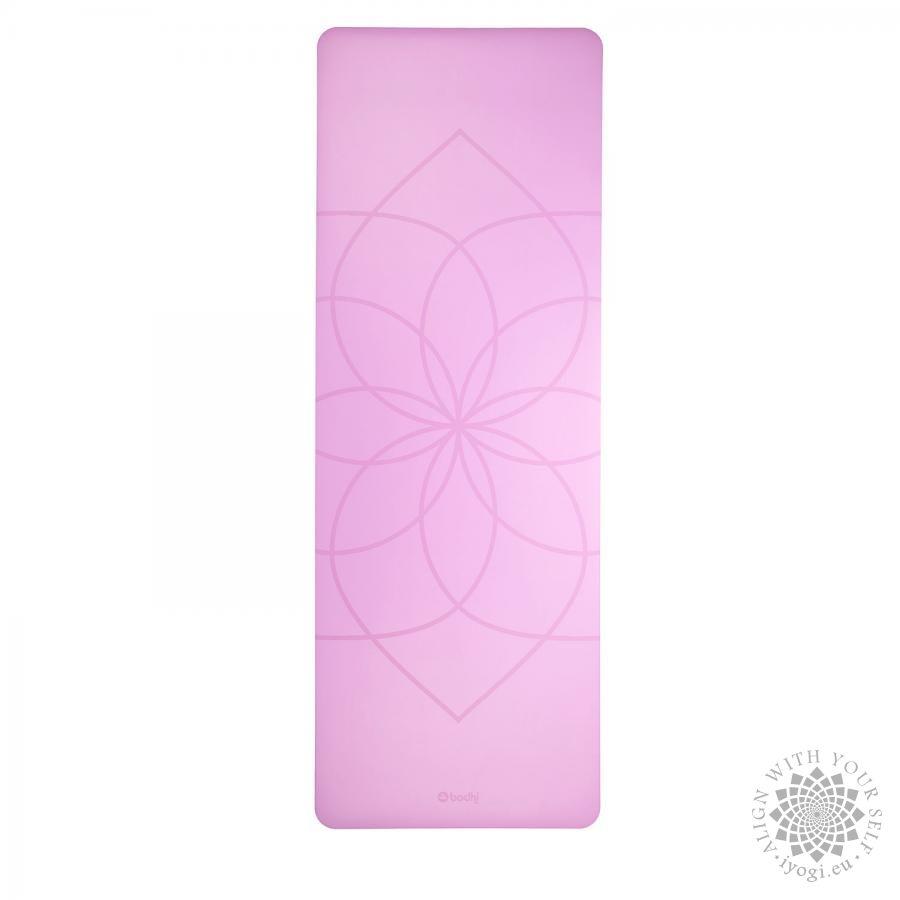 Bodhi PHOENIX Design Mat, lila with Living Flower