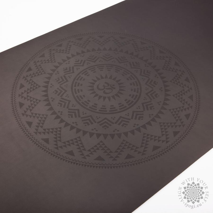 Bodhi PHOENIX Design Mat, black with Ethno mandala
