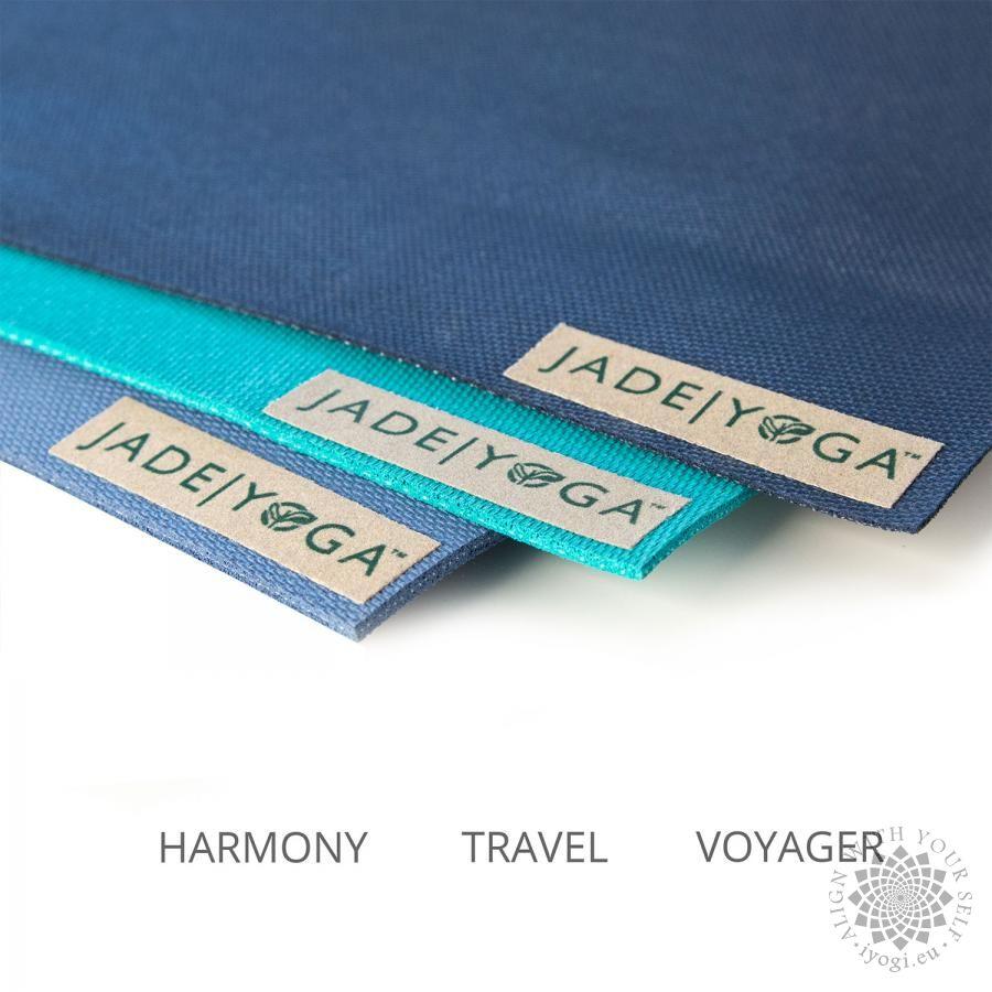 Jade Travel Yoga Mat Black
