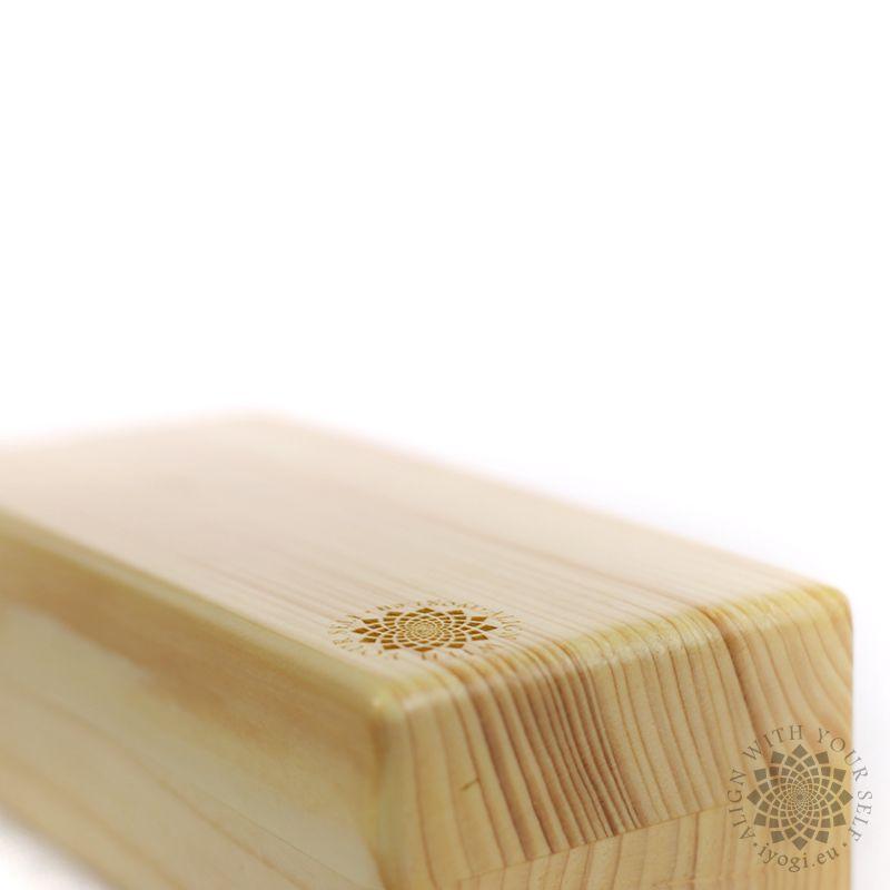 Wooden Yoga brick