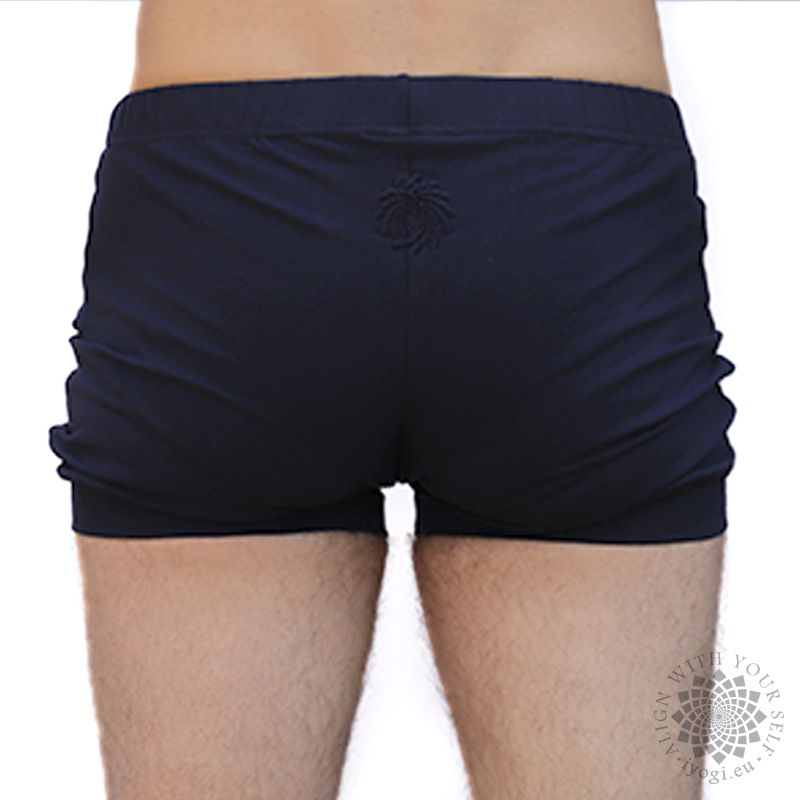 iyogi yoga shorts - dark blue