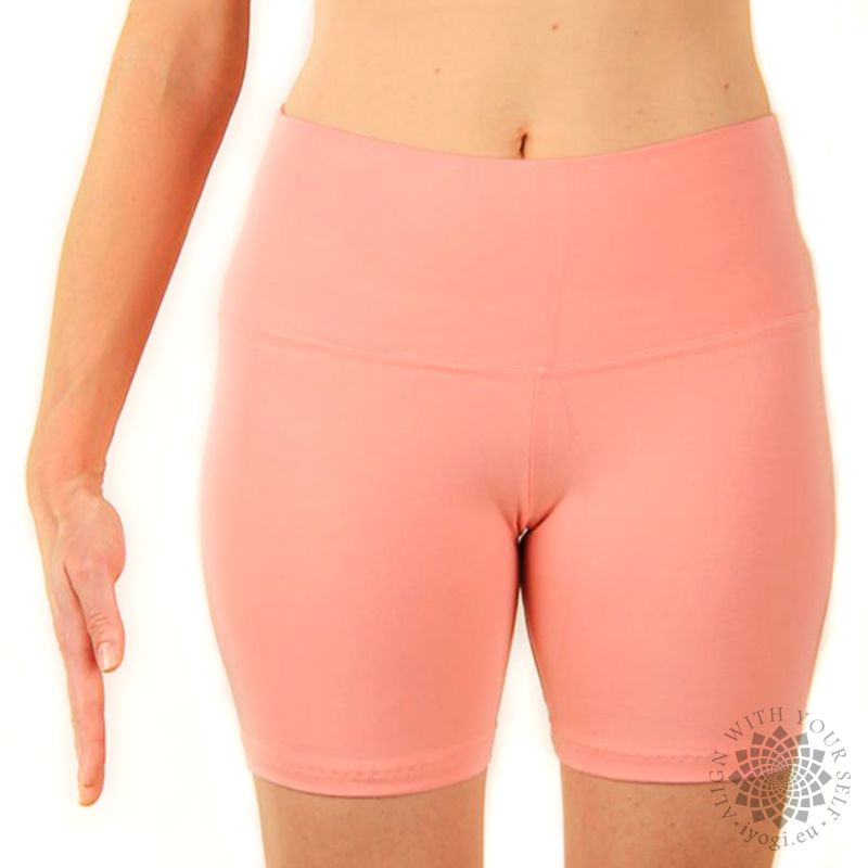 iyogi Women yoga shorts - salmon