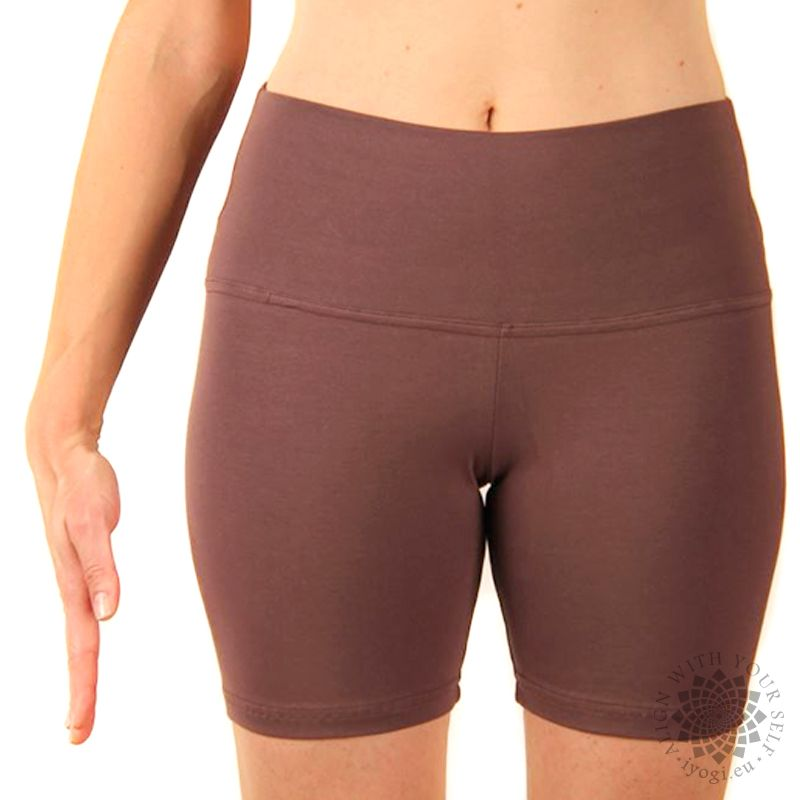 iyogi Women yoga shorts - light brown