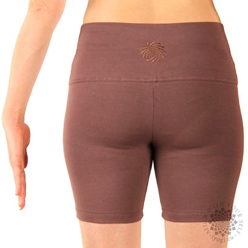 iyogi Women yoga shorts - light brown