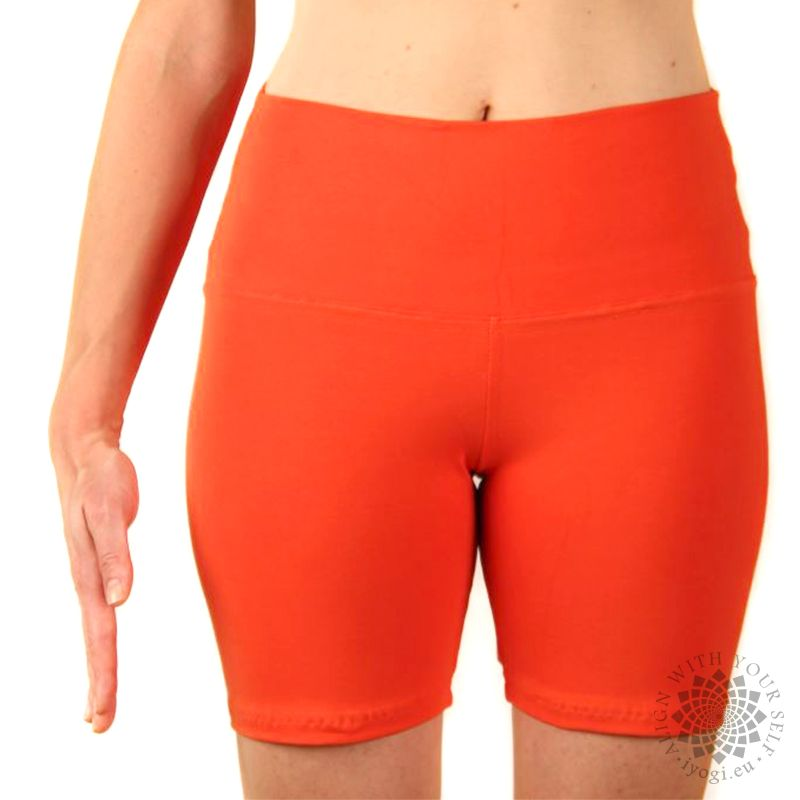 iyogi Women yoga shorts - orange
