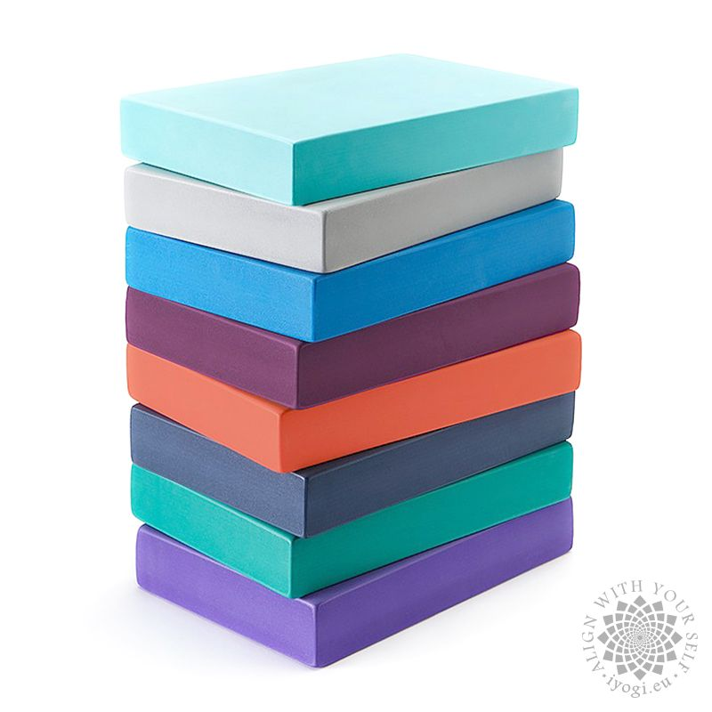 Yoga foam block 300 x 200 x 50 mm