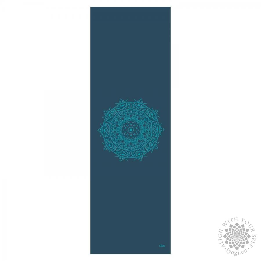 Bodhi LEELA petrol Mandala turquoise Yoga Mat