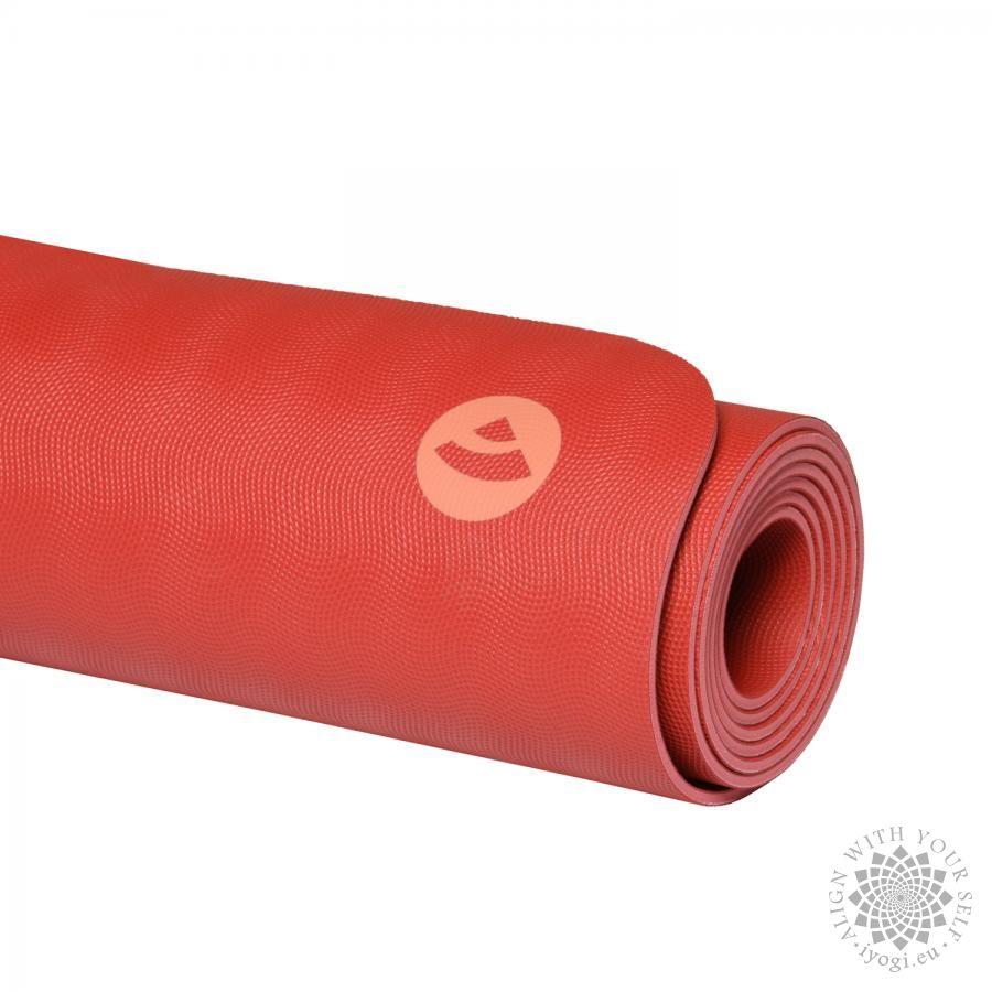 ECOPRO mat - natural rubber crimson