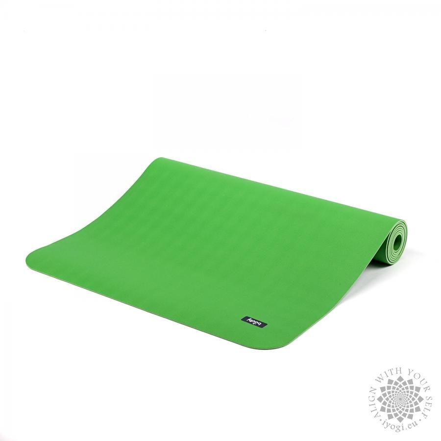 ECOPRO mat - natural rubber reed green