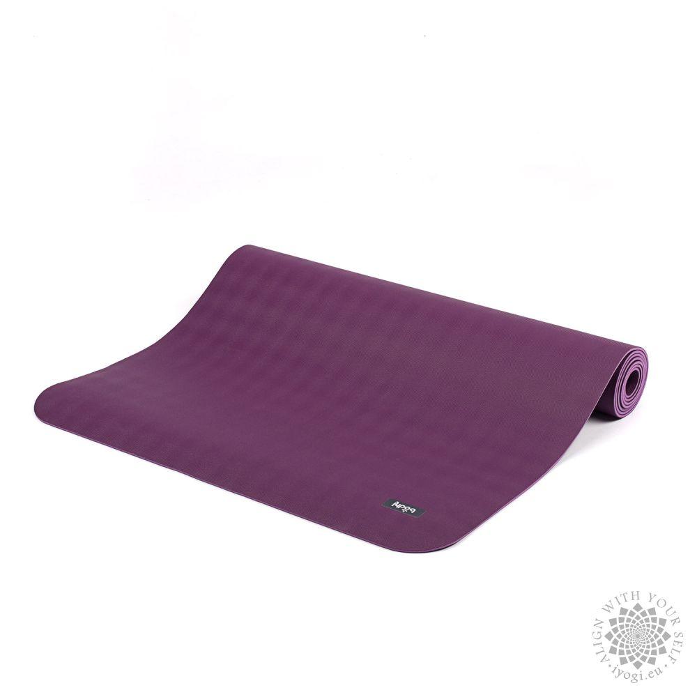 ECOPRO mat - natural rubber violet