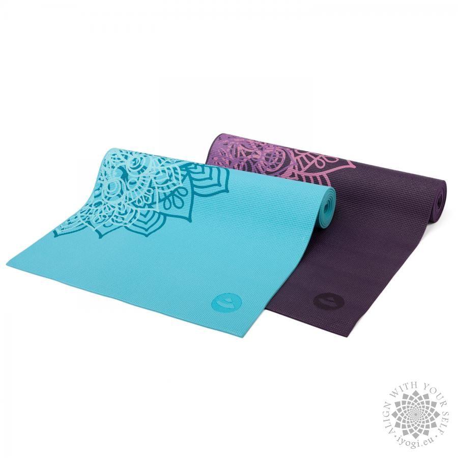 Bodhi LEELA Curacao Mandala two tone Yoga Mat