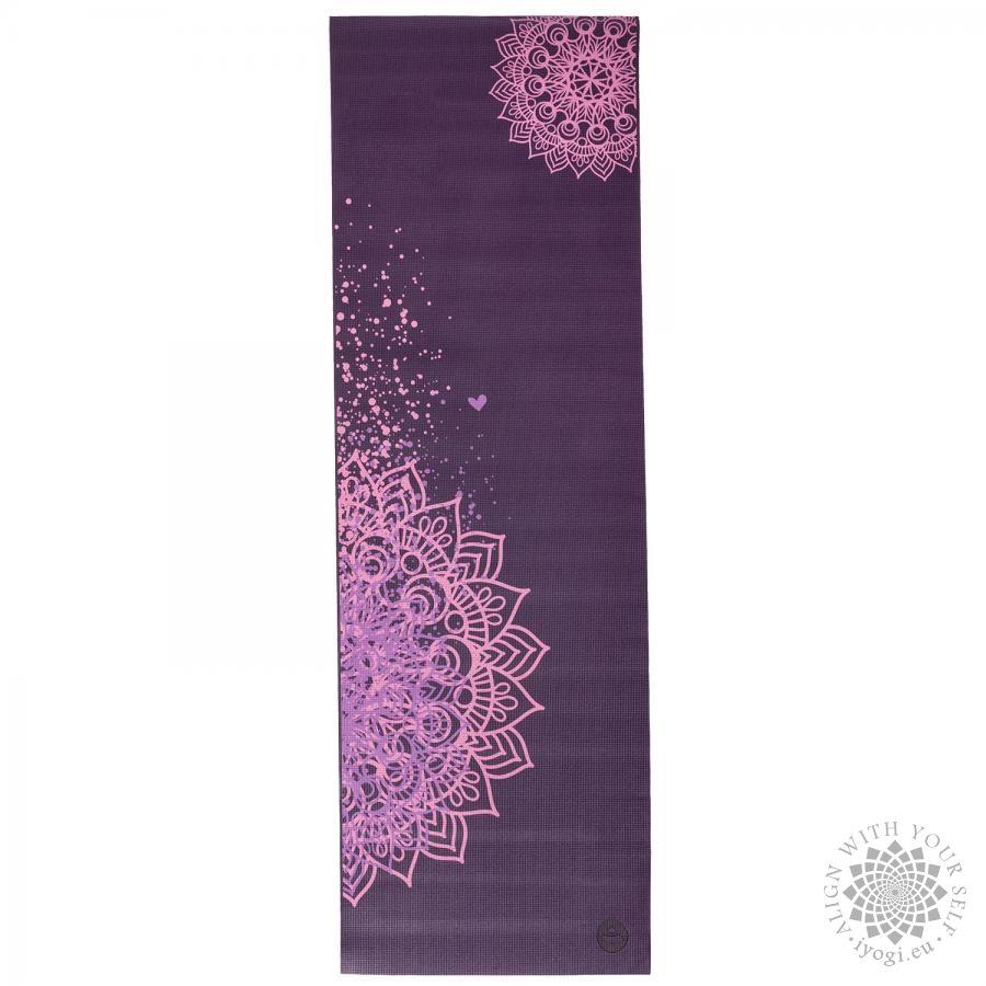 Bodhi LEELA Plum Mandala two tone Yoga Mat