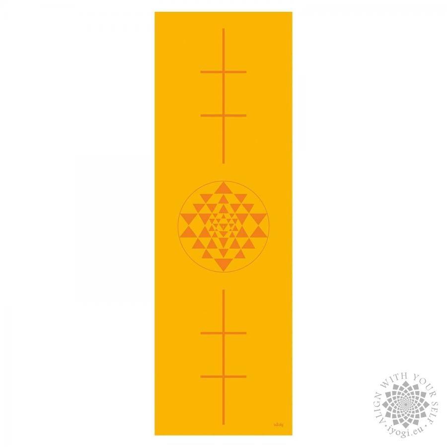 Bodhi LEELA Saffron Yantra Yoga Mat