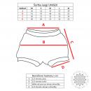iyogi yoga shorts - red