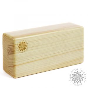 Wooden Yoga brick