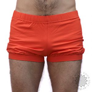 iyogi yoga shorts - orange