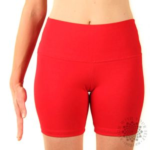 iyogi Women yoga shorts - red